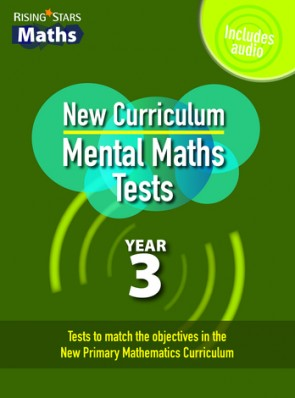 Rising Stars Mental Maths Tests Year 3 - New Curriculum Edition