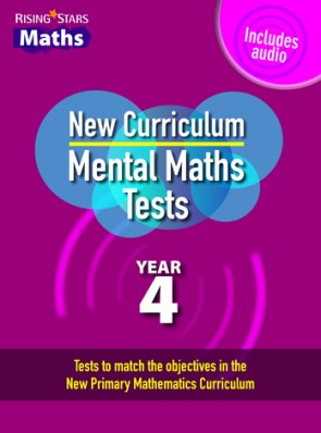 Rising Stars Mental Maths Tests Year 4 - New Edition