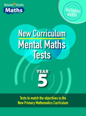 Rising Stars Mental Maths Tests Year 5 - New Edition
