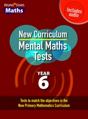 Rising Stars Mental Maths Tests Year 6 - New Edition