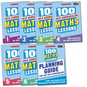 2014 100 Maths Lessons: Full Pack