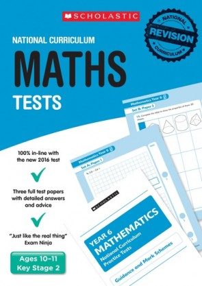 National Curriculum Tests: Maths Tests Years 2-6 Set x 30 (150 books)