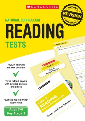 National Curriculum Tests: Reading Tests (Year 3) x 6