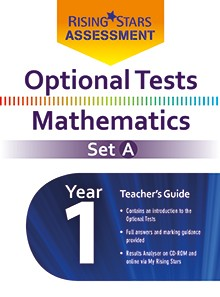 Optional Tests Mathematics Year 1 School Pack Set A