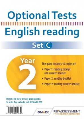 Optional Tests SET C Reading Year 2 Pupil Pack (15 copies)