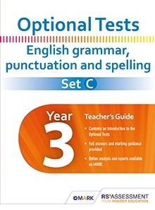 Optional Tests SET C Grammar, Punctuation & Spelling Year 3 Pack (30 Sets)