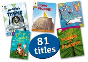 Oxford Accelerated Reader Pack 2: AR levels 2.2-4.9 Interest level 7-9 years