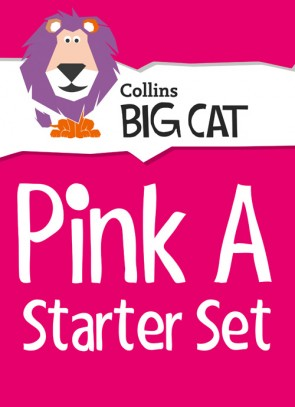 1E. Collins Big Cat - Pink A Starter Set: Band 01A/Pink A - 23 titles