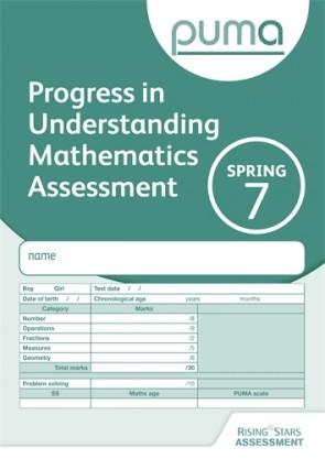 PUMA Test 7, Spring PK10 (Progress in Understanding Mathematics Assessment)