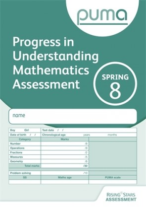 PUMA Test 8, Spring PK10 (Progress in Understanding Mathematics Assessment)