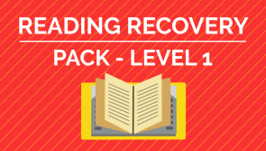 Reading Recovery - Level 1 Pack