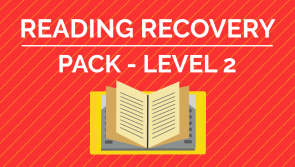 Reading Recovery - Level 2 Pack