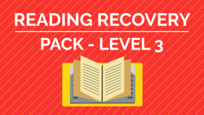 Reading Recovery - Level 3 Pack