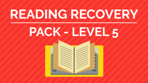 Reading Recovery - Level 5 Pack