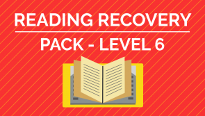 Reading Recovery - Level 6 Pack