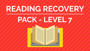 Reading Recovery - Level 7 Pack