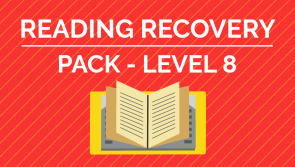 Reading Recovery - Level 8 Pack