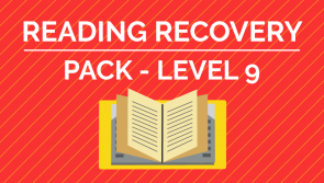 Reading Recovery - Level 9 Pack
