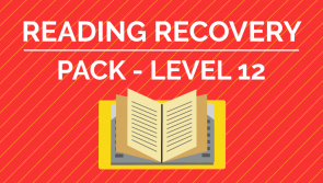 Reading Recovery - Level. 12 Pack