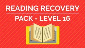 Reading Recovery - Level. 16 Pack