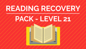 Reading Recovery - Level. 21 Pack