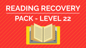 Reading Recovery - Level. 22 Pack