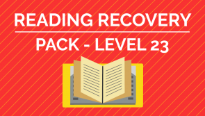 Reading Recovery - Level. 23 Pack