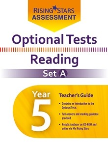 Optional Tests Reading Year 5 School Pack Set A