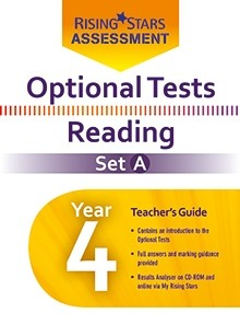 Optional Tests Reading Year 4 School Pack Set A