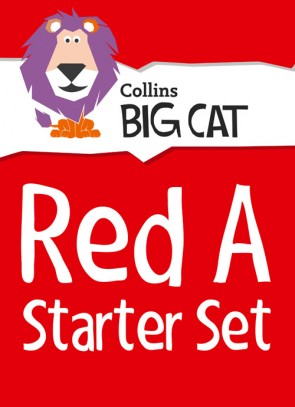 1G. Collins Big Cat - Red A Starter Set: Band 02A/Red A - 22 Titles