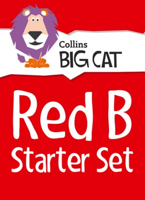 1H. Collins Big Cat - Red B Starter Set: Band 02B/Red B - 22 Titles