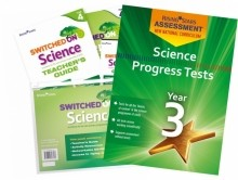 The complete science pack: Switched on Science and Science Progress Tests