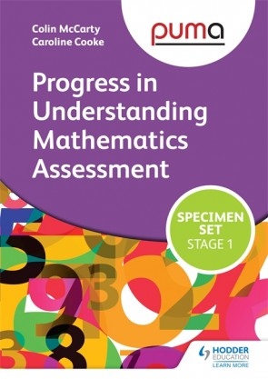 PUMA Stage One (R-2) Specimen Set (Progress in Understanding Mathematics Assessment)