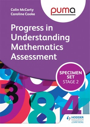 PUMA Stage Two (3-6) Specimen Set (Progress in Understanding Mathematics Assessment)
