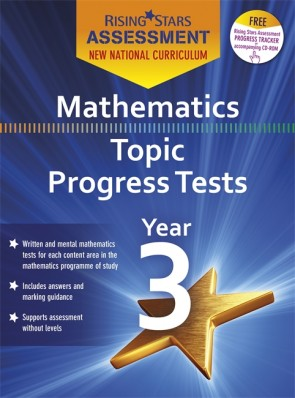 New Curriculum Rising Stars Assessment Mathematics Topic Progress Tests Year 3 Pack