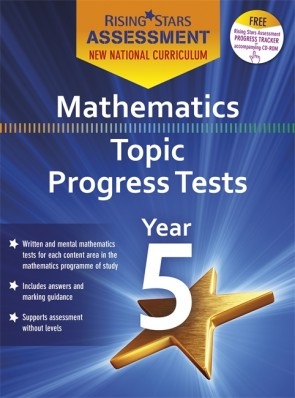 New Curriculum Rising Stars Assessment Mathematics Topic Progress Tests Year 5 Pack