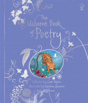 Poetry collections - The Usborne book of poetry (luxury clothbound edition)