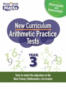 Rising Stars Arithmetic Practice Tests Year 3