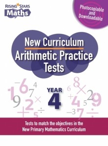 Rising Stars Arithmetic Practice Tests Year 4