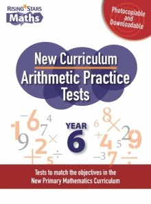 Rising Stars Arithmetic Practice Tests Year 6