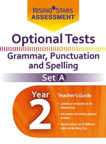 Optional Tests Grammar, Punctuation & Spelling Year 2 School Pack Set A