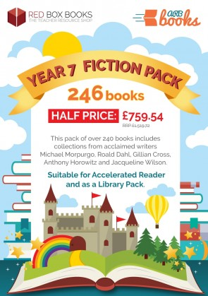 Year 7 Half-Price Fiction Pack - Accelerated Reader 246 Books